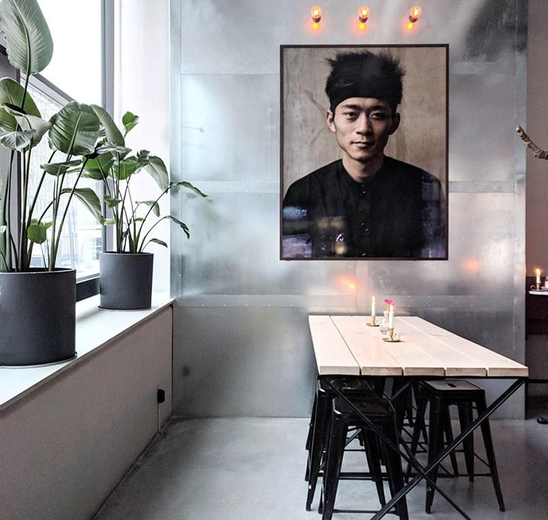 Usine ristorante di design a Stoccolma