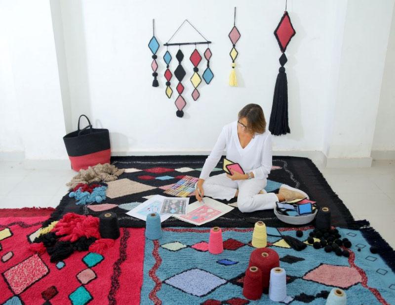 Tappeti Per Bambini Lavabili : I colori della primavera sbocciano sui nuovi tappeti lorena canals