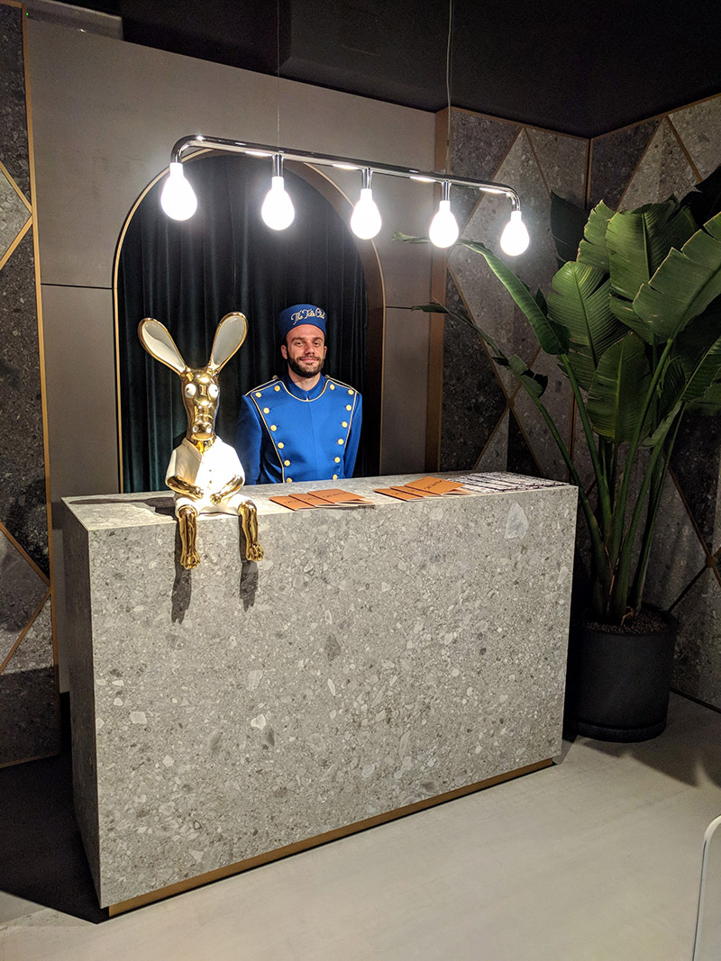 the tile club-showroom marazzi