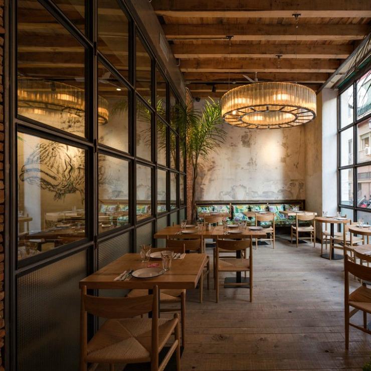 Torres García ristorante di design Siviglia