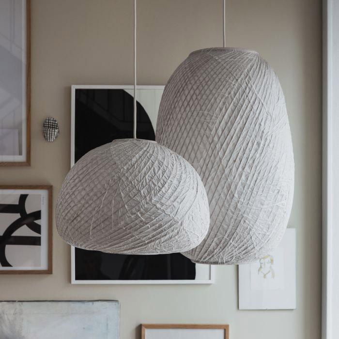 lampadari in carta di riso Granit