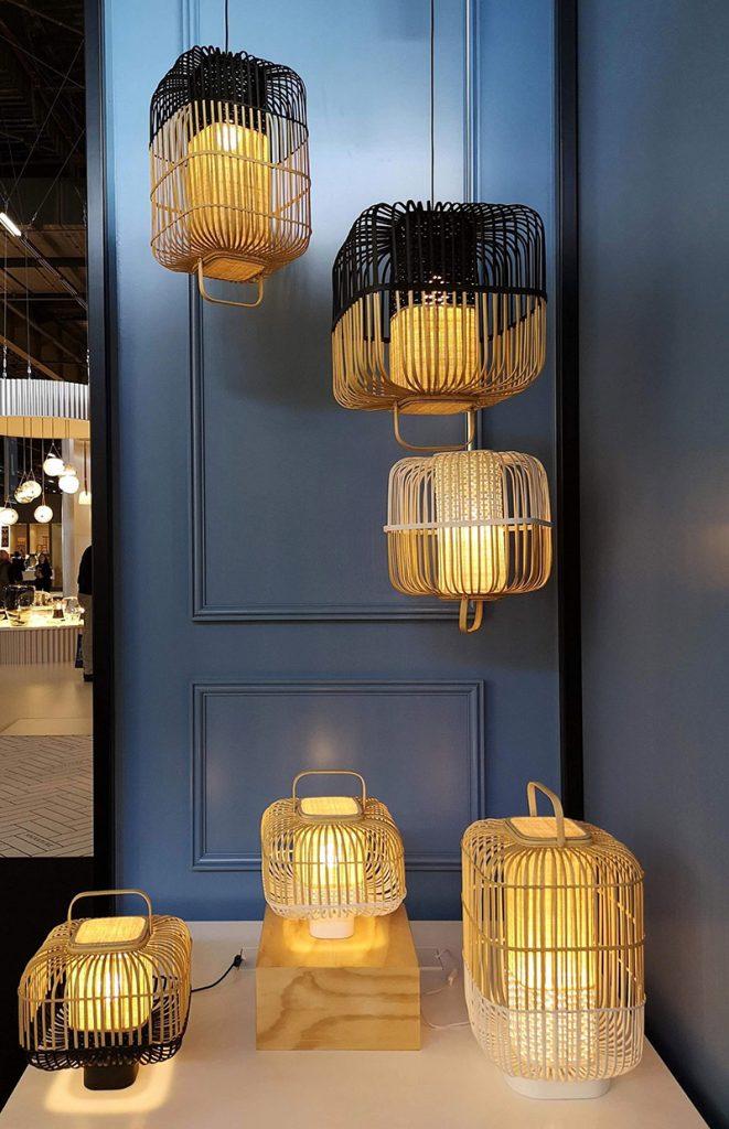 maison et objet 2019 lampade lanterna forestier