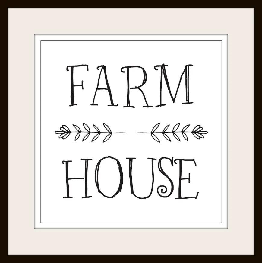 Farmhouse Printable