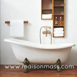 clawfoot tub, antique, bathroom, farmhouse