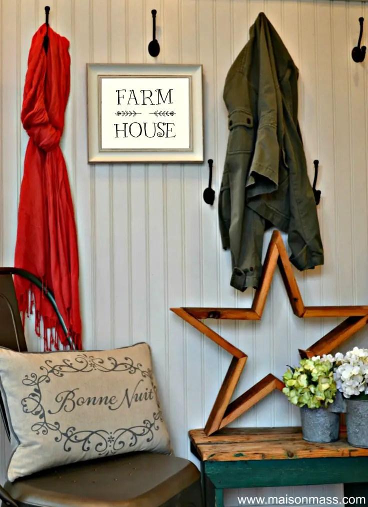 Farm House Printable