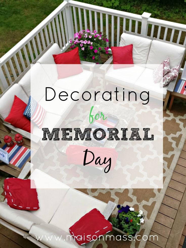 Decorating for Memorial Day