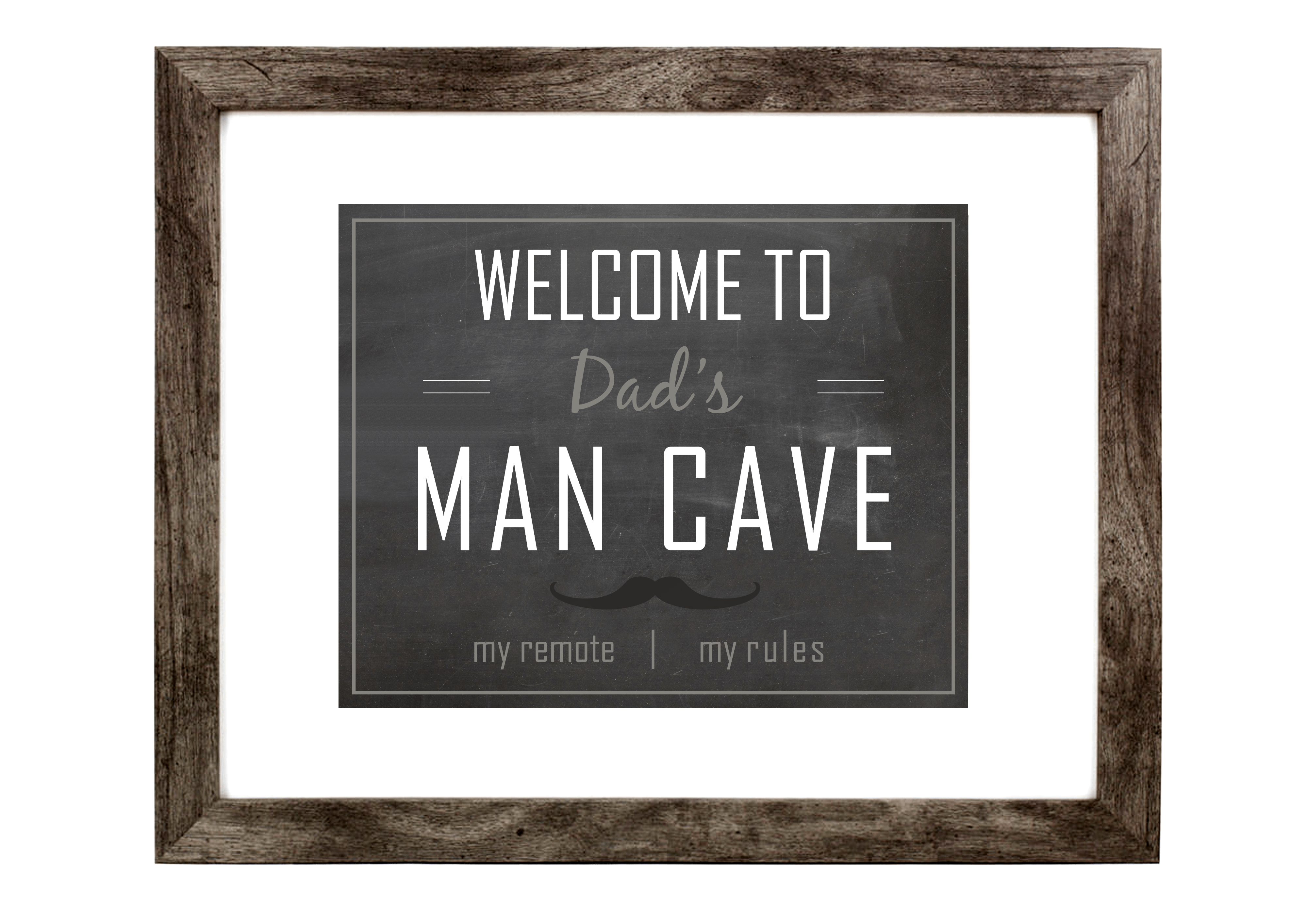Man Cave Wall Art cool ideas for man caves • maison mass