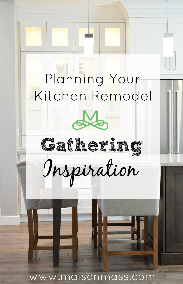 Planning Your Kitchen Remodel: Gathering Inspiration