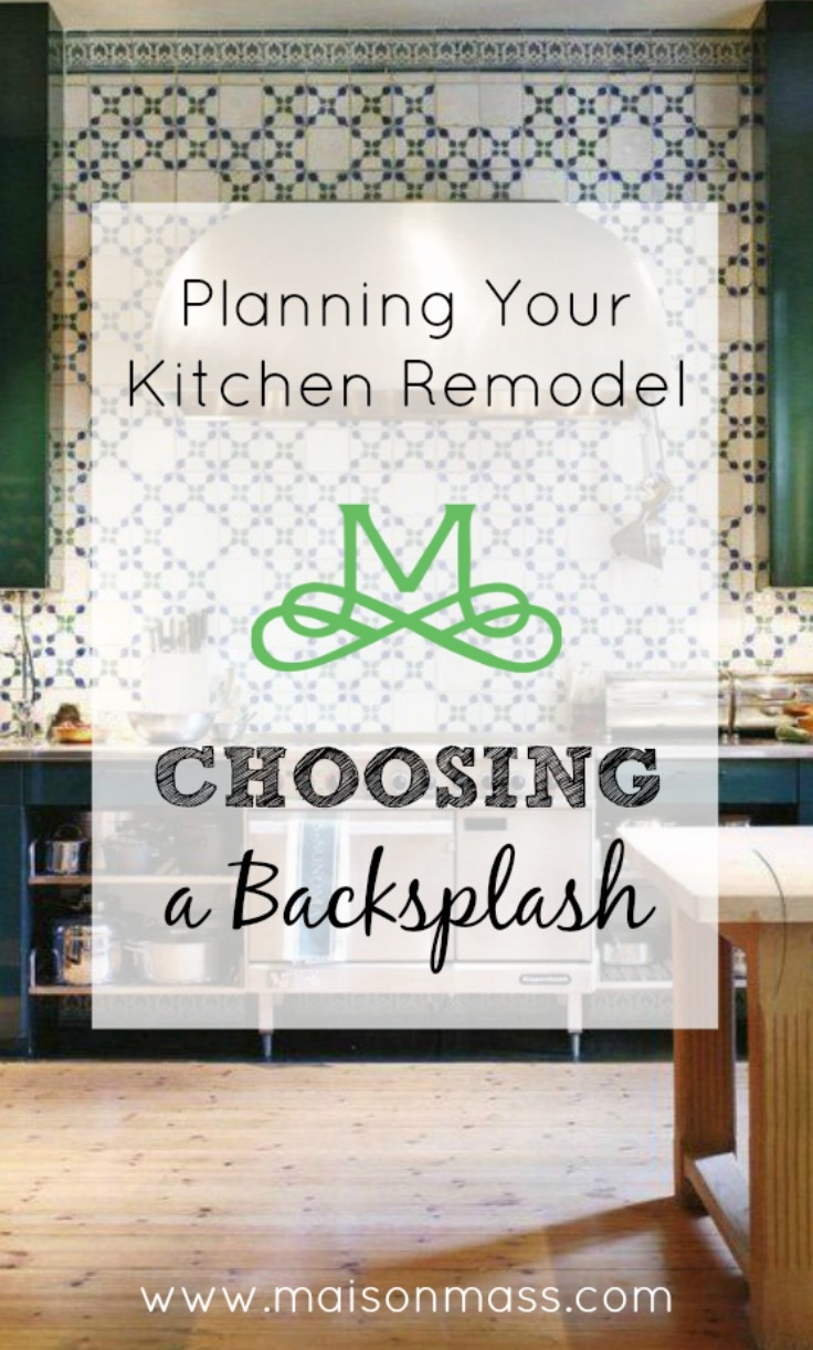 Planning Your Kitchen Remodel – Choosing A Backsplash