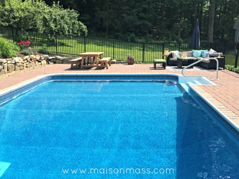 outdoor spaces, pool patio, pavers