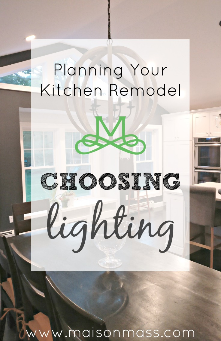 Planning Your Kitchen Remodel – Choosing Lighting