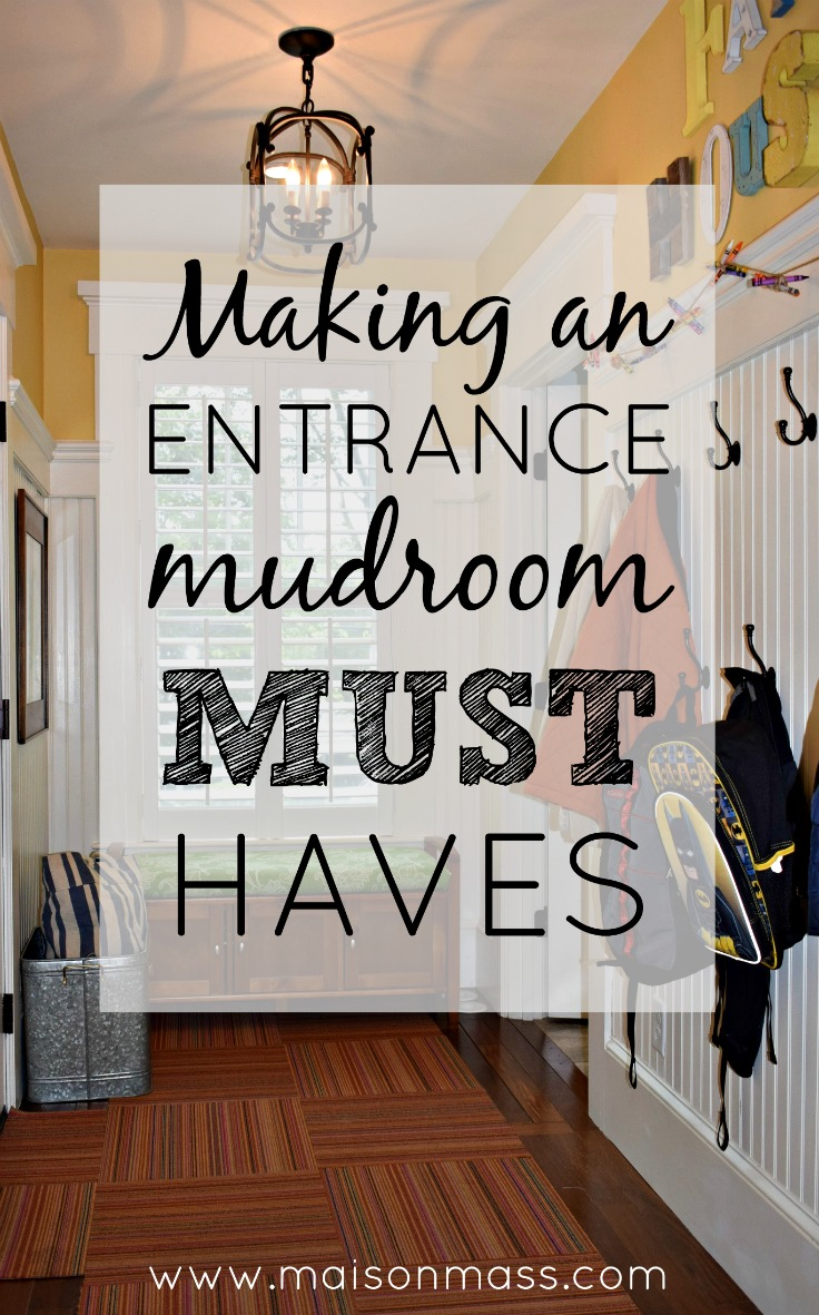 Making an Entrance – Mudroom Must Haves