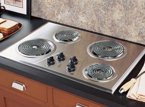 kitchen appliances; electric cooktop