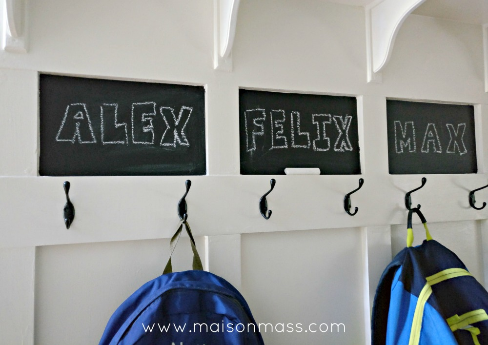 ikea mudroom hack