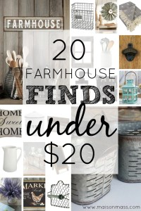 20 farmhouse finds under $20