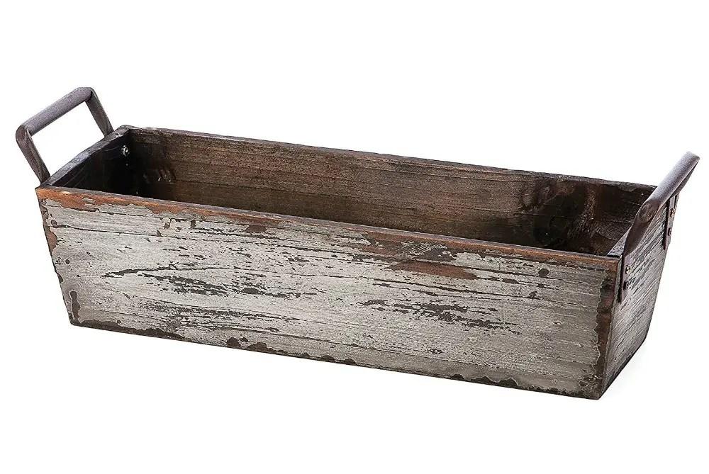 Farmhouse wooden tray