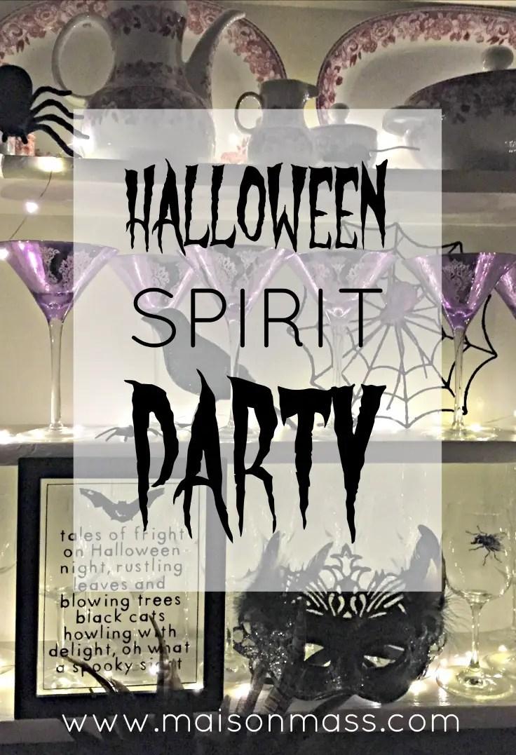 Halloween Spirit Party