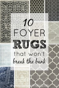 10 Foyer Rugs Feature