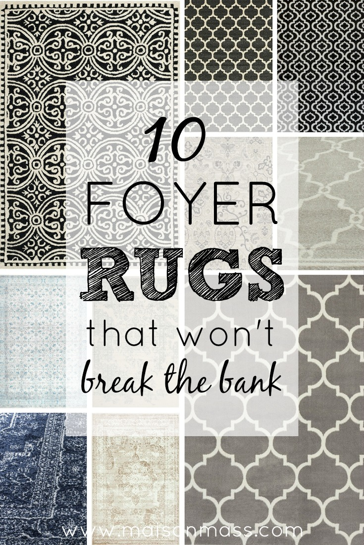 10 Foyer Rugs That Won't Break the Bank