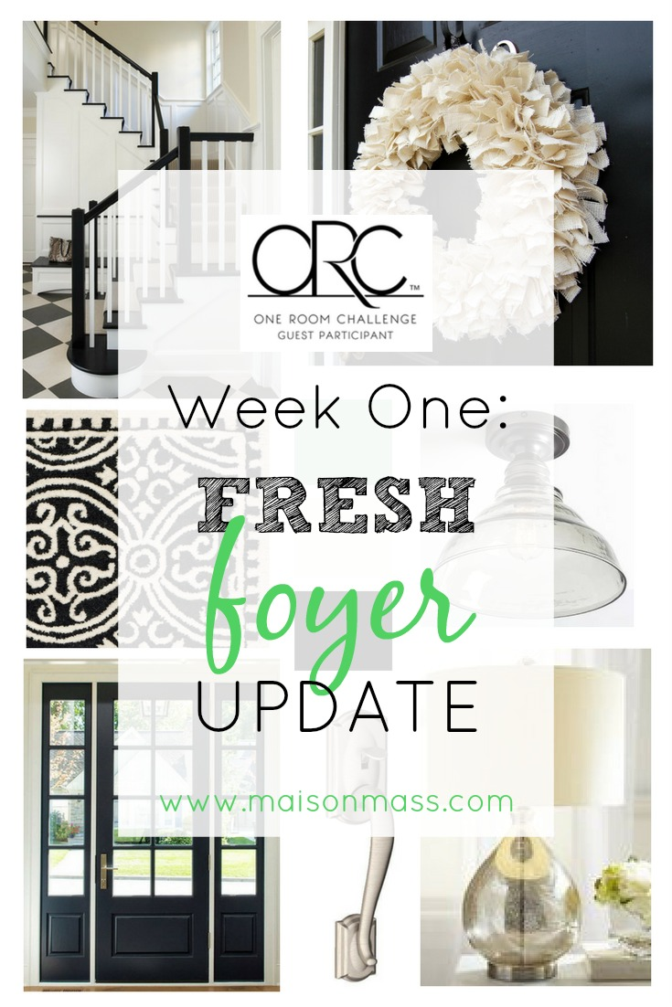 Fresh Foyer Update: ORC Week 1