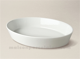plat a four ovale sabot individuel