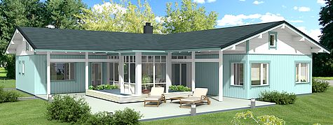 maison en bois pas cher habitable segu maison. Black Bedroom Furniture Sets. Home Design Ideas