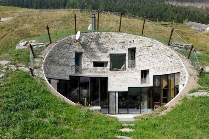 Villa Vals - Earth Sheltered House