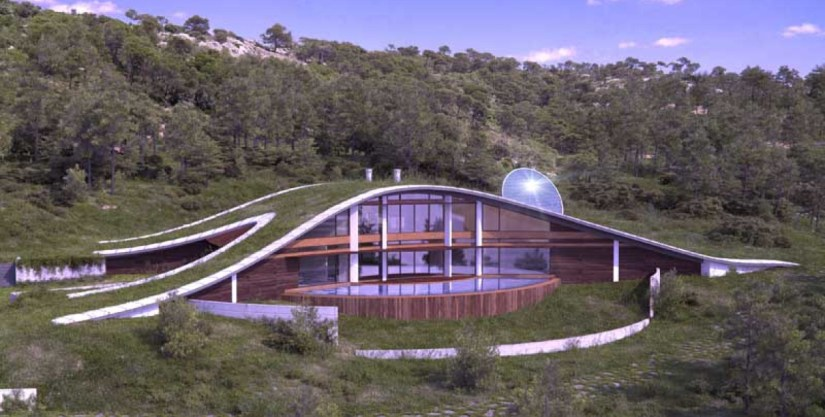 CURVY Eco-House