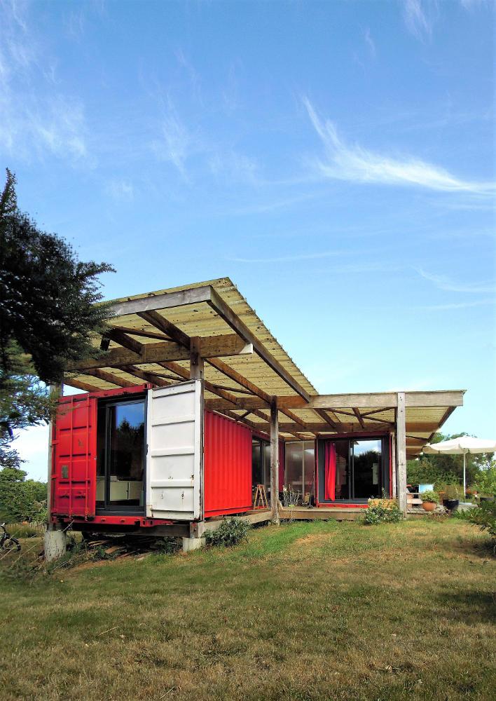 Tour de France des maisons écologiques, Maison en container