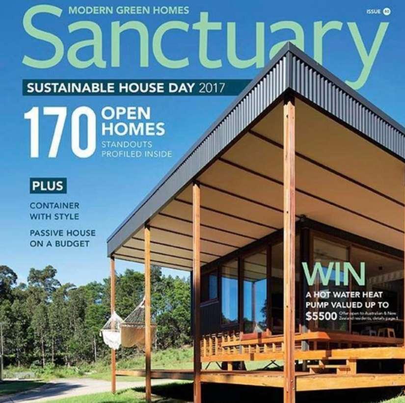 Une du magazine Sanctuary