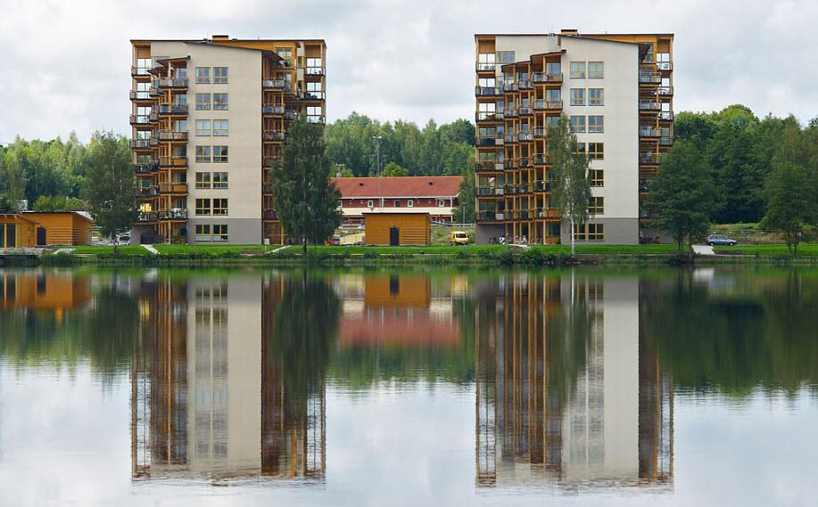 Construction en bois Växjö