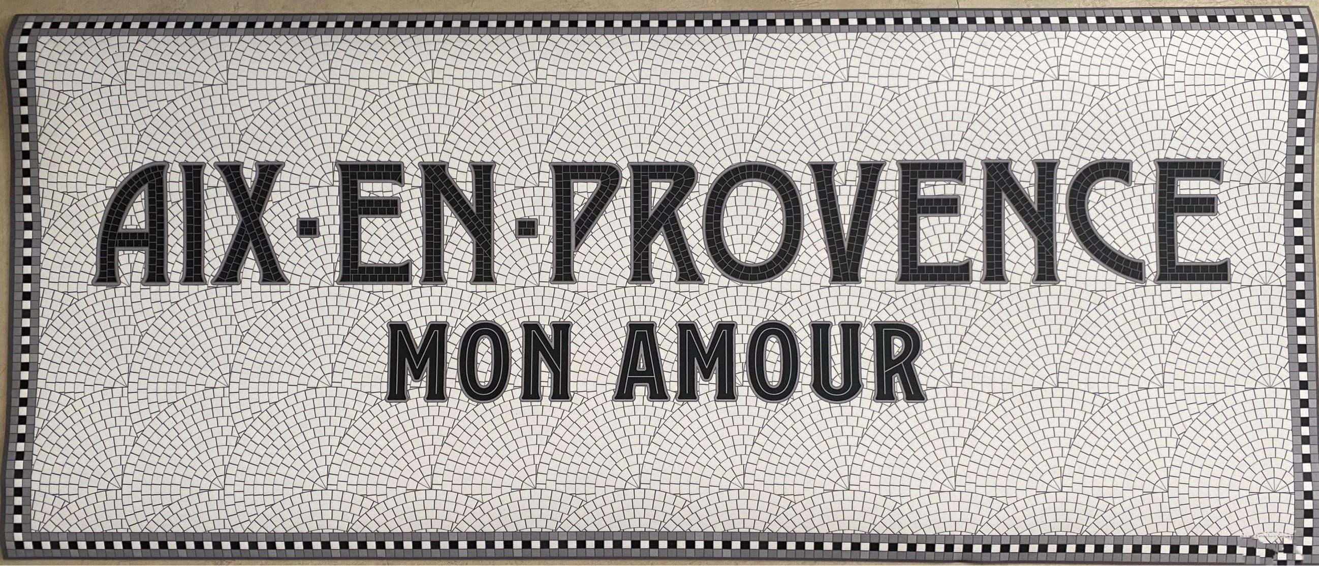 tapis aix en provence mon amour existe en plusieurs tailles et motifs beaumont