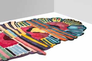 Le tapis « Tufty »