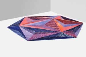 Le tapis « Icosaedro »