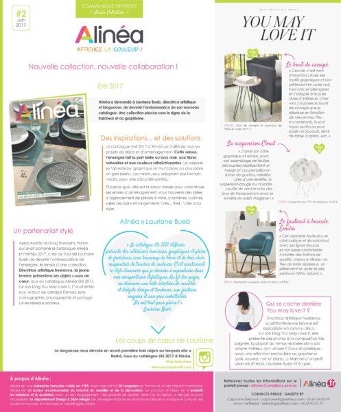 Nouveau Catalogue été Alinea Maisons à Vivre Magazine