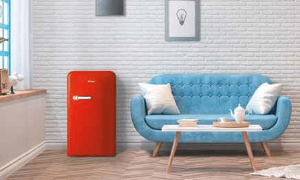Réfrigérateur rétro