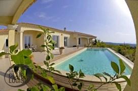Construction d'une maison neuve dans le Gard