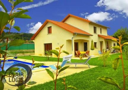 Construction en Rhône-Alpes d'une maison à étage