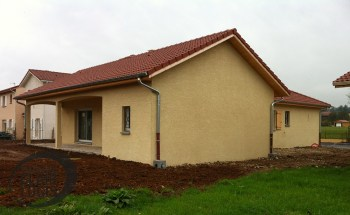 Construction d'une maison de plain-pied