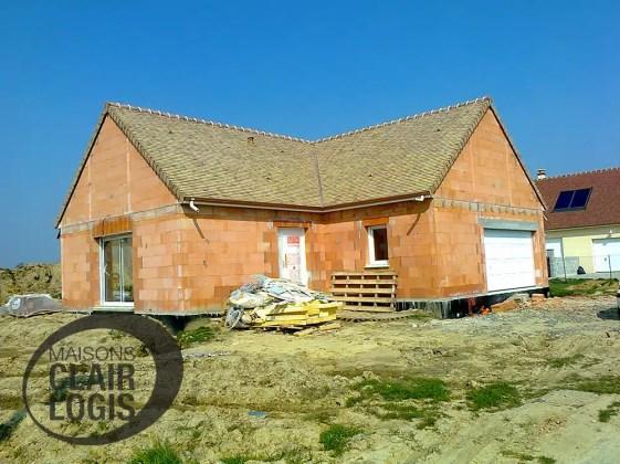 construction d 39 une maison dans l 39 orne. Black Bedroom Furniture Sets. Home Design Ideas