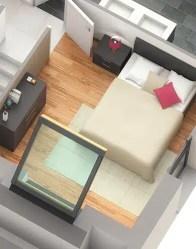 Maison modulaire Solaro - Chambre