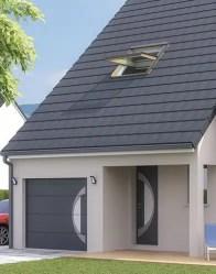 Maison neuve Solaro - Porte d'entrée