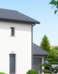 Maison individuelle Vallon - garage accolé