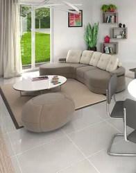 Maison à étage Chartreuse - Salon spacieux