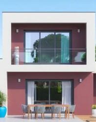 Maison à étage Audace - baies vitrées