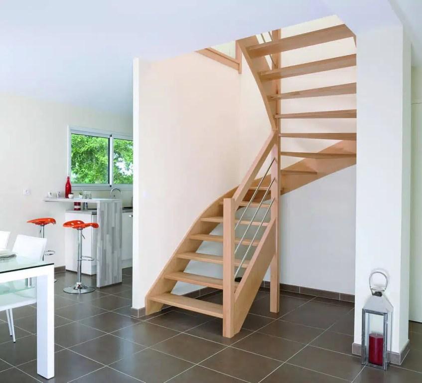 Escalier deux quart tournant - Groupe Riaux