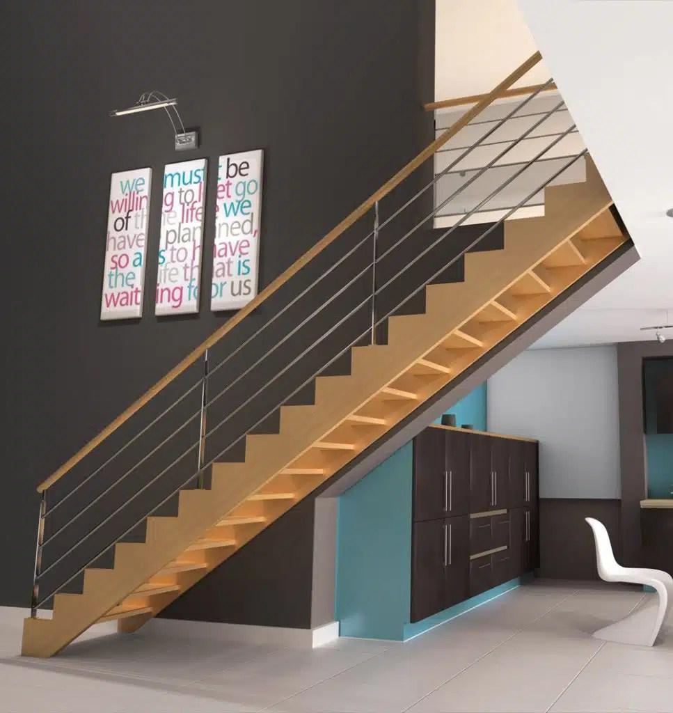 Escalier droit - Groupe Riaux