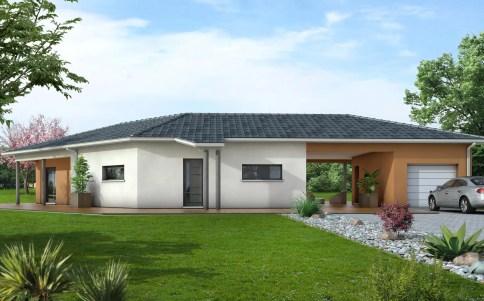 maison contemporaine TANZANITE