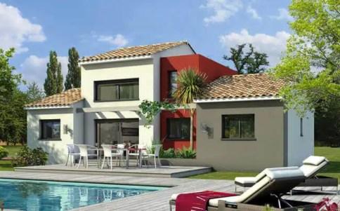 Maison contemporaine Agate - plan maison gratuit