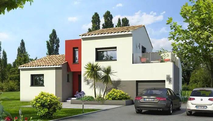 maison contemporaine Agate - toit plat et toit terrasse